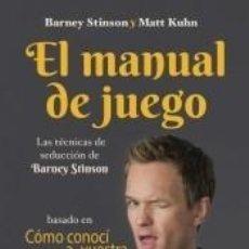 Libros: EL MANUAL DE JUEGO. Lote 245192110
