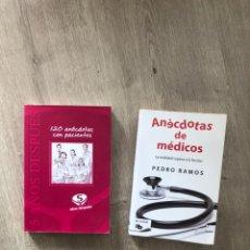 Libros: LOTE LIBROS ANECDOTAS MEDICAS. Lote 246450495