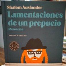 Libros: SHALOM AUSLANDER. LAMENTACIONES DE UN PREPUCIO .(MEMORIAS). BLACKIE BOOKS. Lote 246592405