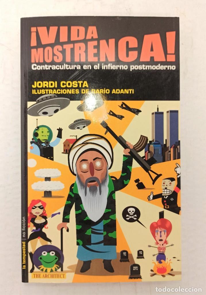 """VIDA MOSTRENCA"" DE JORDI COSTA (2002) EDIT. TEMPESTAD (Libros Nuevos - Literatura - Narrativa - Humor)"