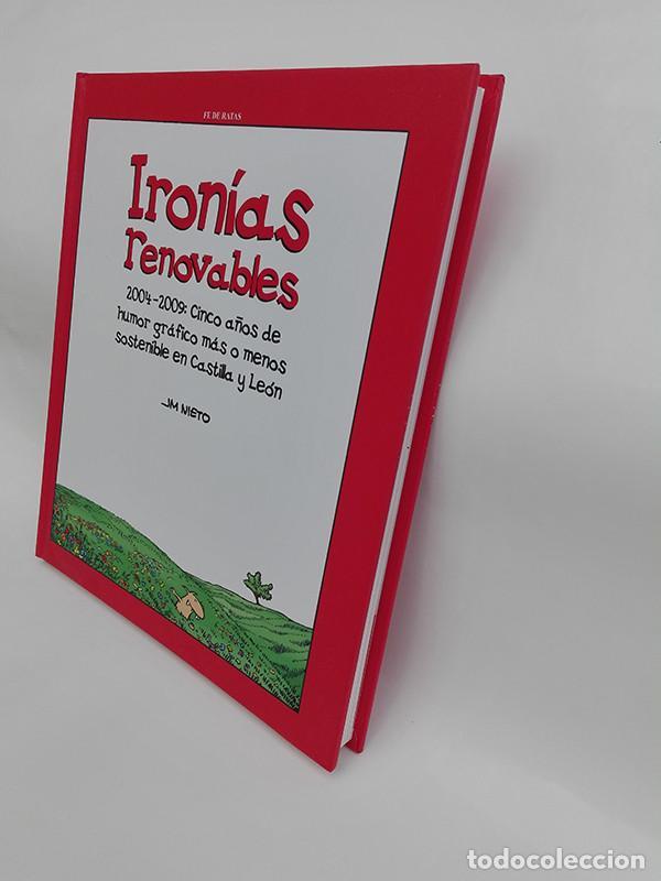Libros: IRONÍAS RENOVABLES. 2004-2009: CINCO AÑOS DE HUMOR GRÁFICO MÁS O MENOS SOSTENIBLE EN CASTILLA Y LEÓN - Foto 2 - 251919090