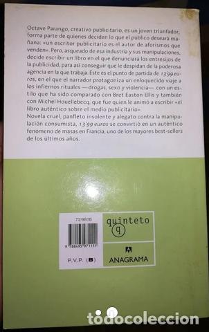 Libros: 13,99 EUROS. BESTSELLER DE BEIGDEBER - Foto 2 - 267047394