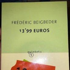 Libros: 13,99 EUROS. BESTSELLER DE BEIGDEBER. Lote 267047394
