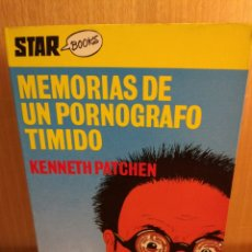 Libros: MEMORIAS DE UN PORNOGRAFO TÍMIDO. Lote 269643638