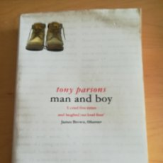 Libros: MAN AND BOY, BY TONY PARSONS. Lote 273317368