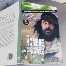 Libros: EL HOMBRE QUE HABLABA CON LAS RANAS - MIGUEL ÁNGEL RODRÍGUEZ (EL SEVILLA) MOJINOS ESCOZÍOS,FIRMADO. Lote 276383808