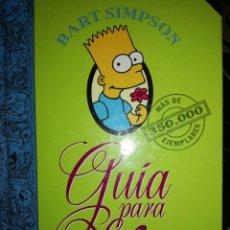 Libros: GUIA PARA LA VIDA BART SIMPSON. Lote 297017423