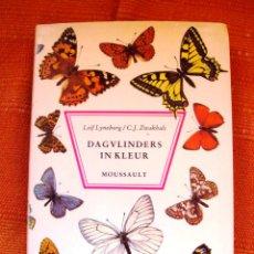 Livres: LIBRO SOBRE MARIPOSAS EN HOLANDES NOMBRES EN LATIN 1975 200PAG. Lote 47256711