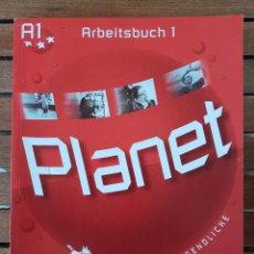 Libros: PLANET. DEUTSCH FÜR JUGENDLICHE. ARBEITSBUCH 1. Lote 109253807
