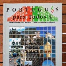 Livres: PORTUGUÊS PARA TODOS 4. Lote 109254819