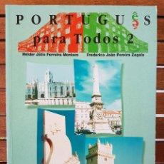 Livres: PORTUGUÊS PARA TODOS 2. Lote 109258563