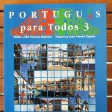Livres: PORTUGUÊS PARA TODOS 3. Lote 109258691