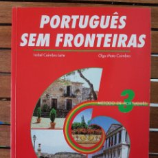 Libros: PORTUGUÊS SEM FRONTEIRAS. MÉTODO DE PORTUGUÊS 3. Lote 109262559