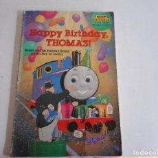 Libros: HAPPY BIRTHDAY,THOMAS. Lote 113508927