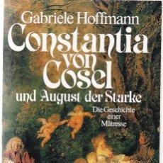 Libros: CONSTANTIA VANCOSEL - GABRIELE HOFFMAN - BASTEI LUBBE 1984. Lote 114447243