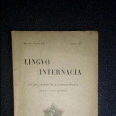 Libros: ESPERANTO. LENGUA ESPERANTO. LINGÜÍSTICA. LITERATURA ESPARANTISTA.. Lote 126990771