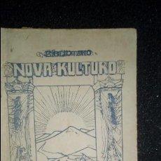 Libros: ESPERANTO. LENGUA UNIVERSAL. LITERATURA ESPERANTISTA.. Lote 126992467