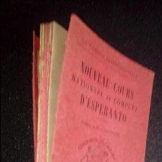 Libros: ESPERANTO. LENGUA UNIVERSAL. LITERATURA ESPERANTISTA.GRAMÁTICA DEL ESPERANTO. Lote 126992987