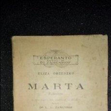 Libros: ESPERANTO. LENGUA UNIVERSAL. LITERATURA ESPERANTISTA. GRAMÁTICA DEL ESPERANTO.. Lote 127146847