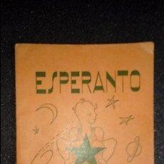 Libros: ESPERANTO. LENGUA UNIVERSAL. LITERATURA ESPERANTISTA. CURSOS DE ESPERANTO.. Lote 127147107