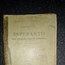 Libros: ESPERANTO. LENGUA UNIVERSAL. LITERATURA ESPERANTISTA. GRAMÁTICA ESPERANTISTA.. Lote 127148107