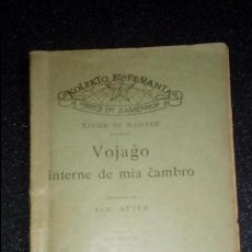 Libros: ESPERANTO. LENGUA UNIVERSAL. LITERATURA ESPERANTISTA.. Lote 127275715