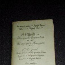 Libros: ESPERANTO. LENGUA UNIVERSAL. LITERATURA ESPERANTISTA. METHODE DE STÉNOGRAPHIE ESPÉRANTISTE ET DE STÉ. Lote 127276007