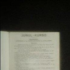 Libros: ESPERANTO. LENGUA UNIVERSAL. LITERATURA ESPERANTISTA. GRAMÁTICA ESPERANTISTA.. Lote 127564867