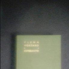 Libros: ESPERANTO. LENGUA UNIVERSAL. LITERATURA ESPERANTISTA. GRAMÁTICA ESPERANTISTA.. Lote 127565719
