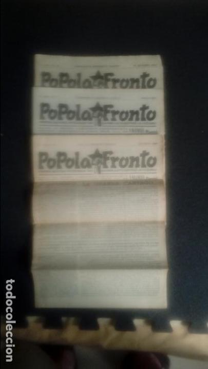 ESPERANTO. .CNT, AIT, FAI. GUERRA CIVIL ESPAÑOLA. REVISTA DEL FRENTE POPULAR EN ESPERANTO. (Libros Nuevos - Idiomas - Otros idiomas)