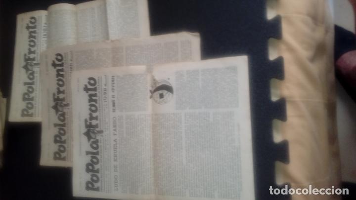 Libros: Esperanto. .CNT, AIT, FAI. Guerra Civil española. Revista del Frente Popular en esperanto. - Foto 2 - 127567463
