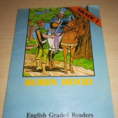 Libros: ROBIN HOOD ENGLISH GRADED READERS, ALHAMBRA, EDICION 1986-88. Lote 165857810