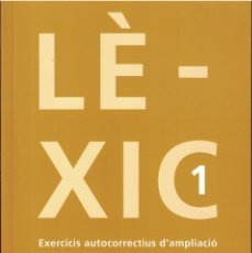 Libros: LÉXIC - EXERCICIS DE VOCABULARI. Lote 167743820