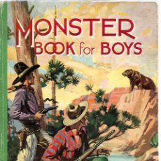 Libros: MONSTER BOOK FOR BOYS. Lote 169072892