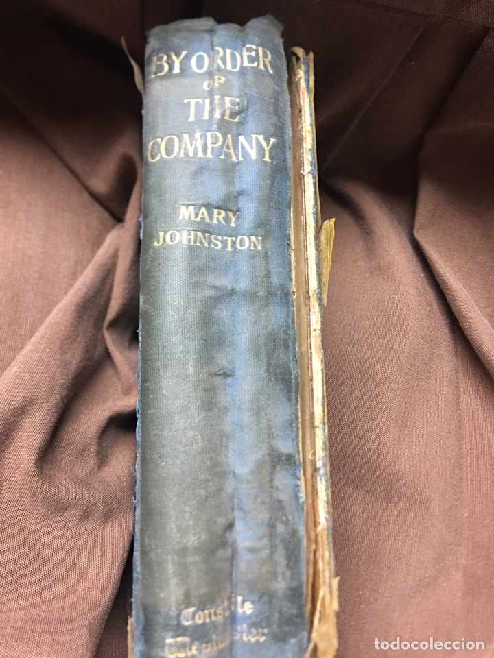 Libros: LIBRO BY ORDER OF THE COMPANY - MARY JOHNSTON - Foto 2 - 183260537