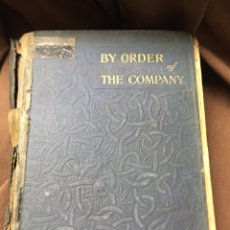 Libros: LIBRO BY ORDER OF THE COMPANY - MARY JOHNSTON. Lote 183260537
