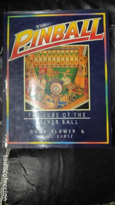 Libros: PINBALL THE LOURE OF THE SILVER BALL - Foto 1 - 187590352