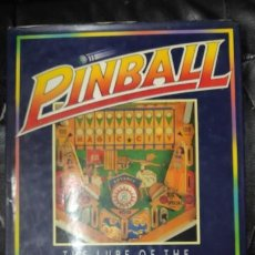 Libros: PINBALL THE LOURE OF THE SILVER BALL. Lote 187590352