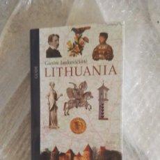 Libros: GUIA SOBRE LITUANIA, EN INGLES. Lote 189255093