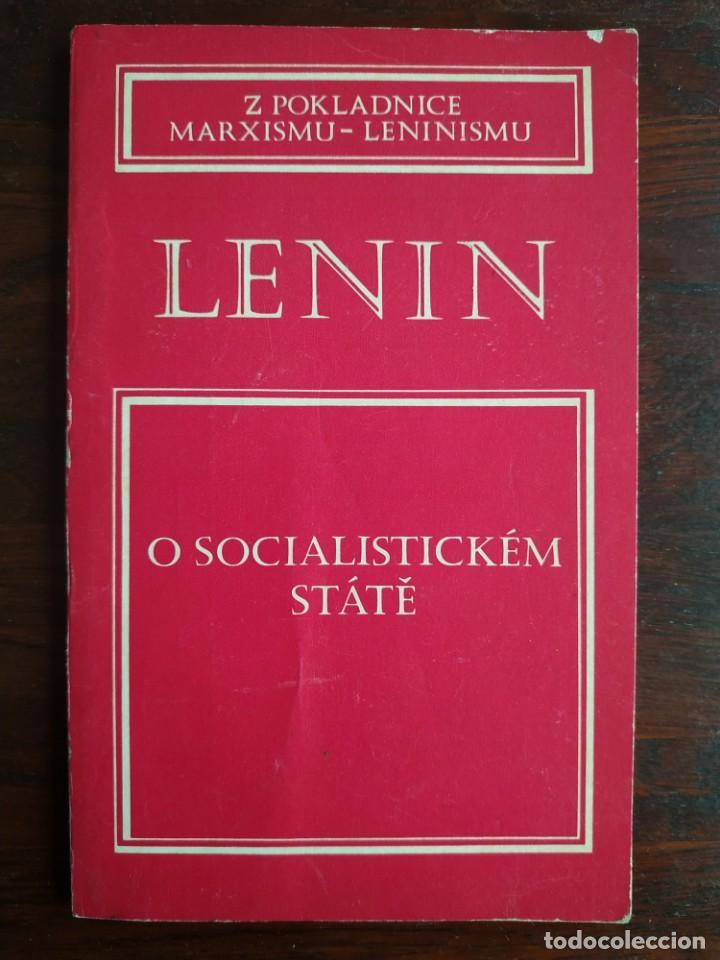 LENIN, O SOCIALISTICKEM STATE, Z POKLADNICE MARXISMU-LENINISMU. TRATADO MARXISMO Y LENINISMO 1977 (Libros Nuevos - Idiomas - Otros idiomas)