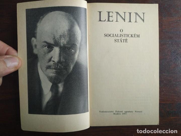 Libros: Lenin, o socialistickem state, Z pokladnice Marxismu-Leninismu. Tratado Marxismo y Leninismo 1977 - Foto 2 - 199048520