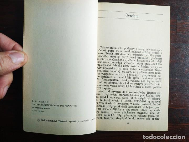 Libros: Lenin, o socialistickem state, Z pokladnice Marxismu-Leninismu. Tratado Marxismo y Leninismo 1977 - Foto 3 - 199048520
