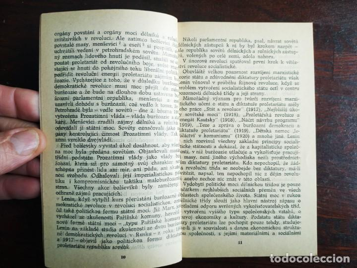 Libros: Lenin, o socialistickem state, Z pokladnice Marxismu-Leninismu. Tratado Marxismo y Leninismo 1977 - Foto 4 - 199048520