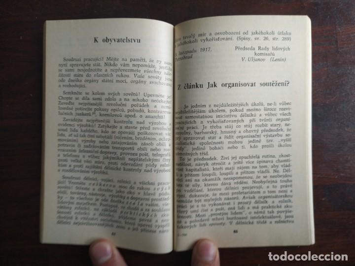Libros: Lenin, o socialistickem state, Z pokladnice Marxismu-Leninismu. Tratado Marxismo y Leninismo 1977 - Foto 8 - 199048520