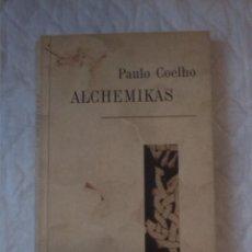 Libros: ALCHEMIKAS. PAULO COELHO. VAGA. 2002. LITUANIA. LITUANO.. Lote 207452070