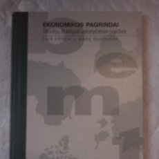Libros: EKONOMIKOS PAGRINDAI. KAIE KEREM IR MARE RANDVEER. STUDIJU BALTIJOS VALSTYBESE I VADAS. 1998 LITUANO. Lote 207659020