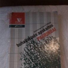 Libros: BUHALTERINES APSKAITOS PAGRINDAI. GEDIMINAS KALCINSKAS. PACIOLIS. 1996. LITUANIA. LITUANO.. Lote 207666352