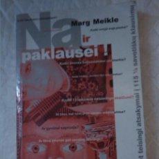 Libros: NA IR PAKLAUSEI... MARG MEIKLE. GIMTASIS ZODIS VILNIUS. 2005. LITUANIA. LITUANO.. Lote 207670580