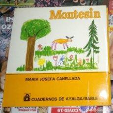 Libros: MONTESIN MARIA JOSEFA CANELLADA. Lote 261518995