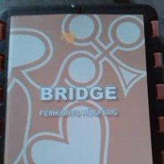 Libros: BRIDGE. FEMKORTS HÖGFÄRG. NYA BRIDGESKOLAN. FEBRUARI 2021. STOCKHOLM.. Lote 272789458